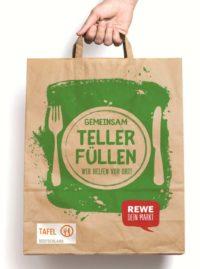 REWE Taflel Tüten Aktion 2018